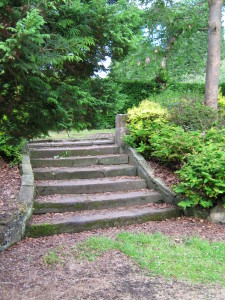 Steps within Historic Gardens