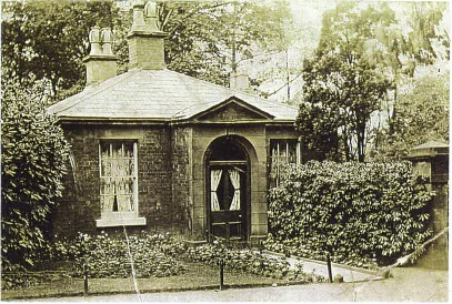 Roby Lodge Gatehouse (now demolished)